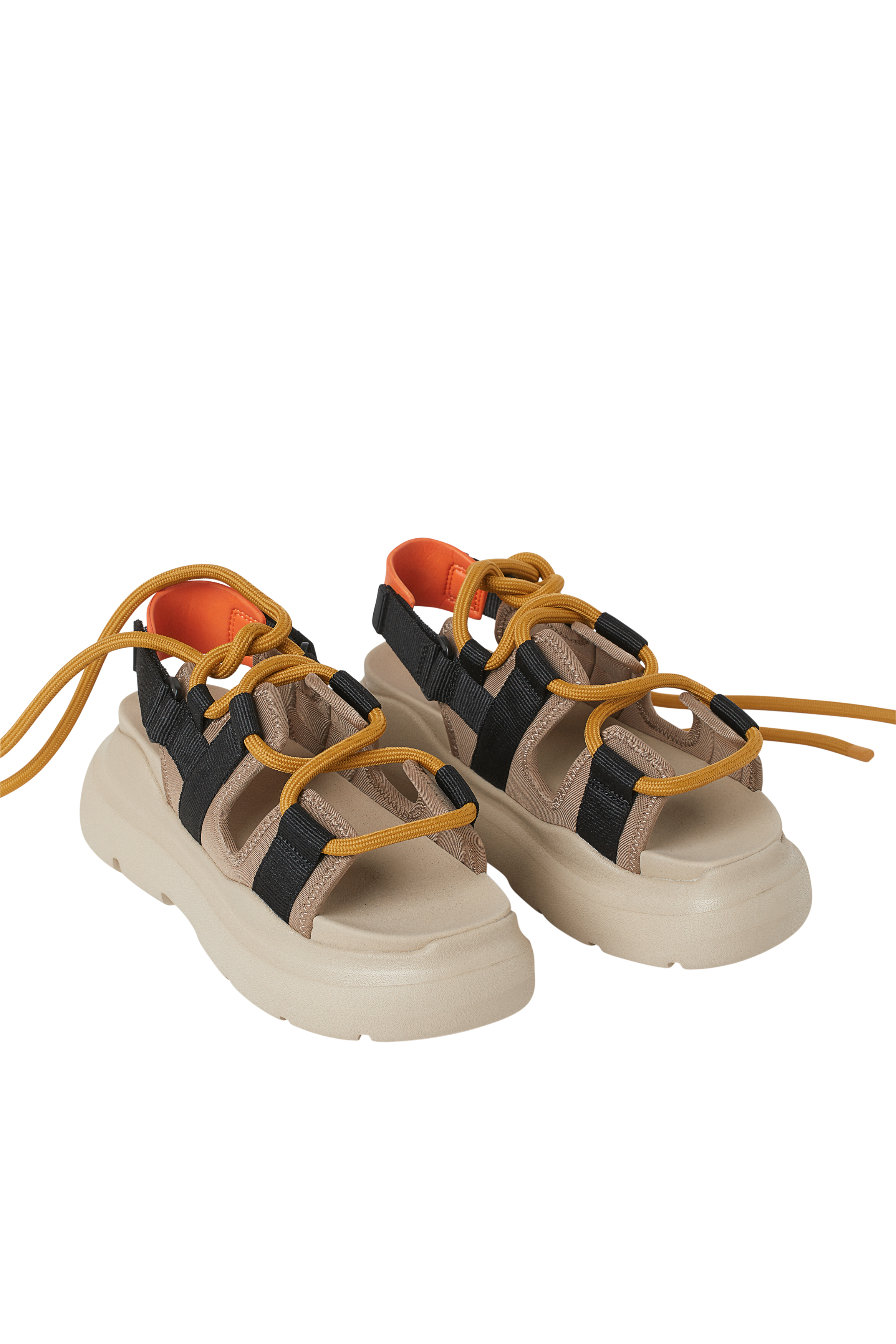 Sandalias con suela gruesa
