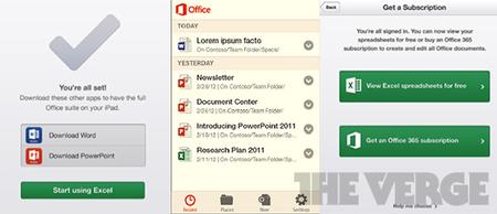 Office para Android y iOS, se revelan más detalles