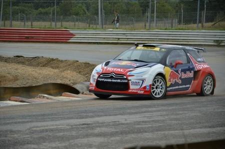 Sébastien Loeb continúa metiendo miedo a sus rivales en el Europeo de RallyCross