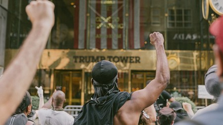 Trump Tower Nyc Mark Clennon George Floyd Protests