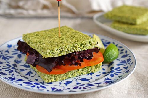 Pan de brócoli fitness bajo en hidratos: receta saludable sin gluten