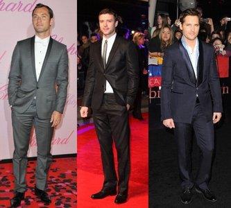 Los hombres mejor vestidos en la alfombra roja del 2011 (I)