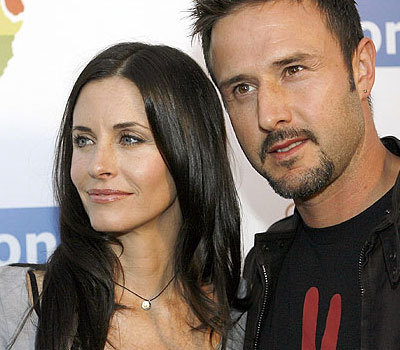 Courtney Cox y David Arquette