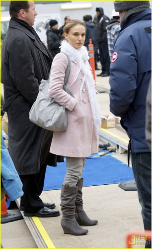 El estilo invernal de Natalie Portman