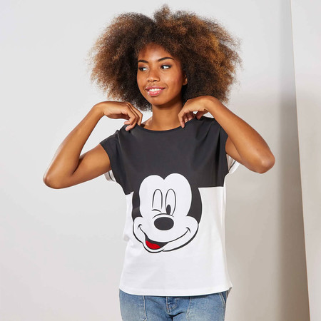Kiabi Camiseta Bicolor Mickey Pvp 13eur