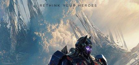 'Transformers: El último caballero', su nuevo póster sugiere que Optimus Prime es el villano