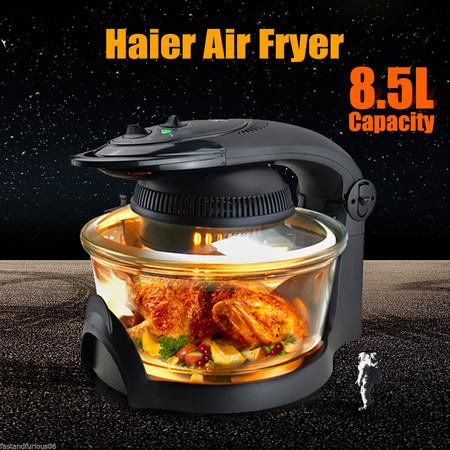 La freidora/horno sin aceite de Haier ya podemos encontrarla rebajada en eBay por 79,99 euros y los gastos de envío gratuitos