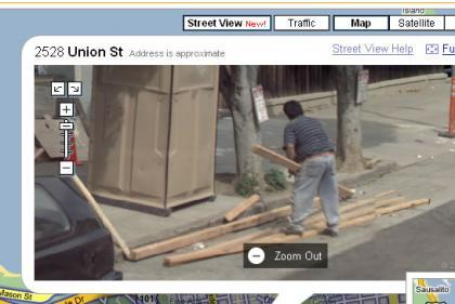 Google Maps Street View es demasiado exacto