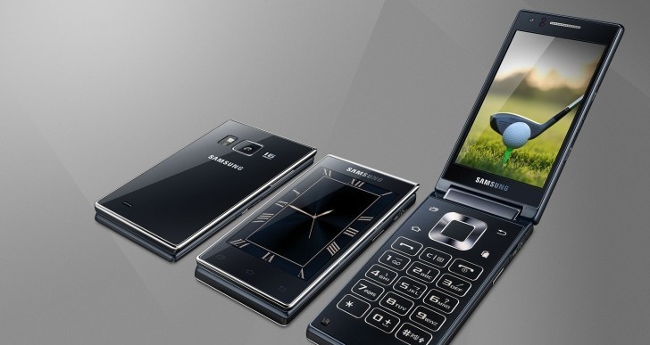 Samsung presenta el teléfono de tipo concha más potente del mercado