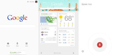 Google Now, pocas pero significativas diferencias entre iOS y Android