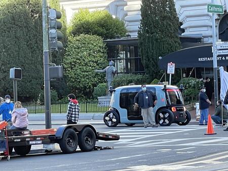 Aparecen supuestas imágenes del coche autónomo de Zoox y Amazon una semana antes de su presentación