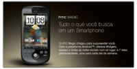 HTC Magic se atreve con la interfaz Sense en Brasil