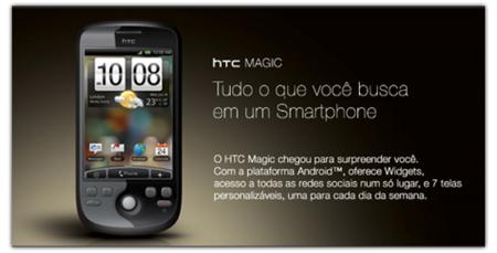 HTC Magic se atreve con la interfaz Sense en Brasil