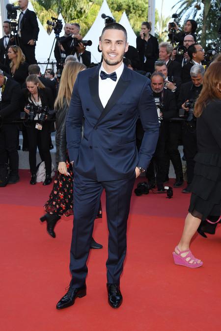 Baptiste Giabiconi Debuta Un Nuevo Y Extremo Corte De Cabello En El Festival De Cannes 2