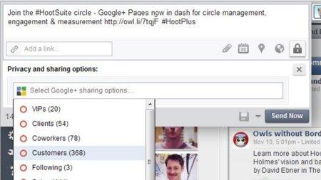 Hootsuite y cinco empresas más permiten gestionar Google+ desde sus servicios