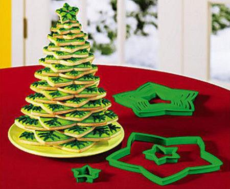 Navidad: un árbol de galletas