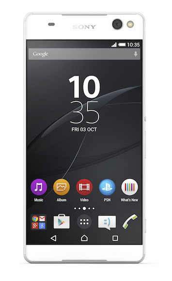 03 Xperia C5 Ultra Front