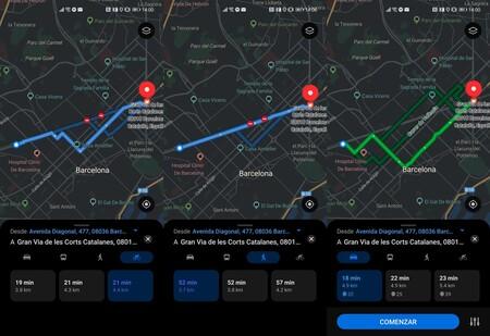Petal Maps Rutas