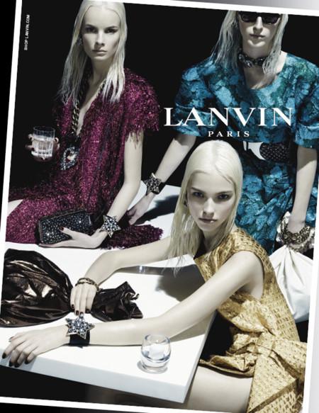 Lanvin y su futurista campaña Primavera-Verano 2014