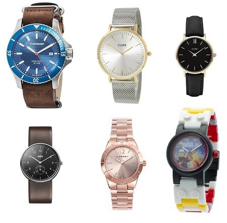 Amazon nos ofrece seis ofertas en relojes para hombre, mujer y niño de Viceroy, Cluse, Braun, Lego y Wenger