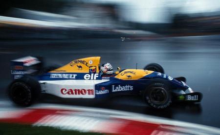 Nigel Mansell GP Bélgica 1992
