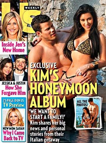 Lunas de miel que salen <em>by the face</em>, por Kim Kardashian