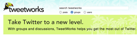Tweetworks, grupos privados para Twitter