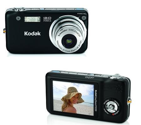 Kodak EasyShare V1253 y V1233, también oficiales ya