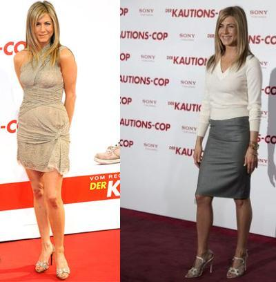 Jennifer Aniston en la premiere de Exposados en Berlín