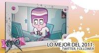 Lo mejor de 2011 en Poprosa: Twitter, follower, Twitter, follower