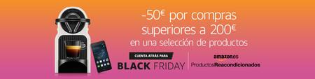 Black Friday: las 23 mejores ofertas en productos reacondicionados Amazon