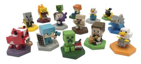 Minecraft presenta sus nuevas figuras NFC al estilo Amiibo