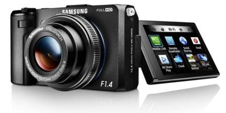 Samsung EX2F: una gran cámara luminosa y conectada