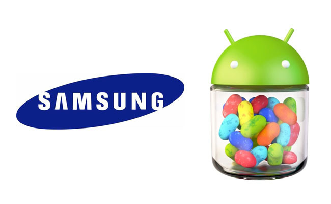 Samsung y Android 4.1 (Jelly Bean)