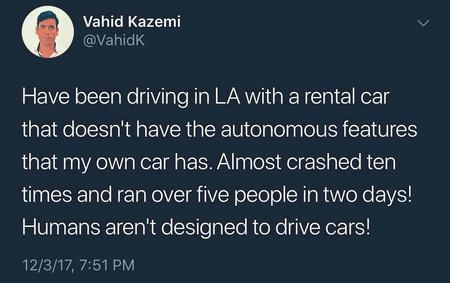 Tweet Kazemi Waymo