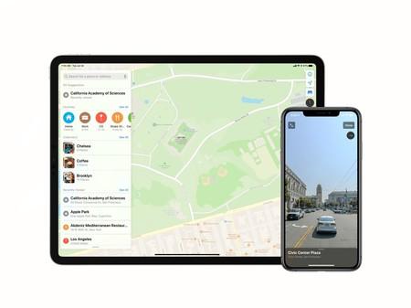Apple Maps En Ipad Y Iphone