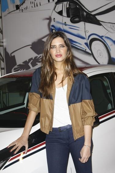 Sara Carbonero, radiante en la presentación del nuevo Toyota Aygo by Lomba