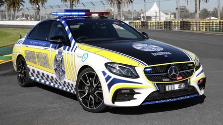 Mercedes Amg E43 Sedan Highway Patrol Car For Victoria Police
