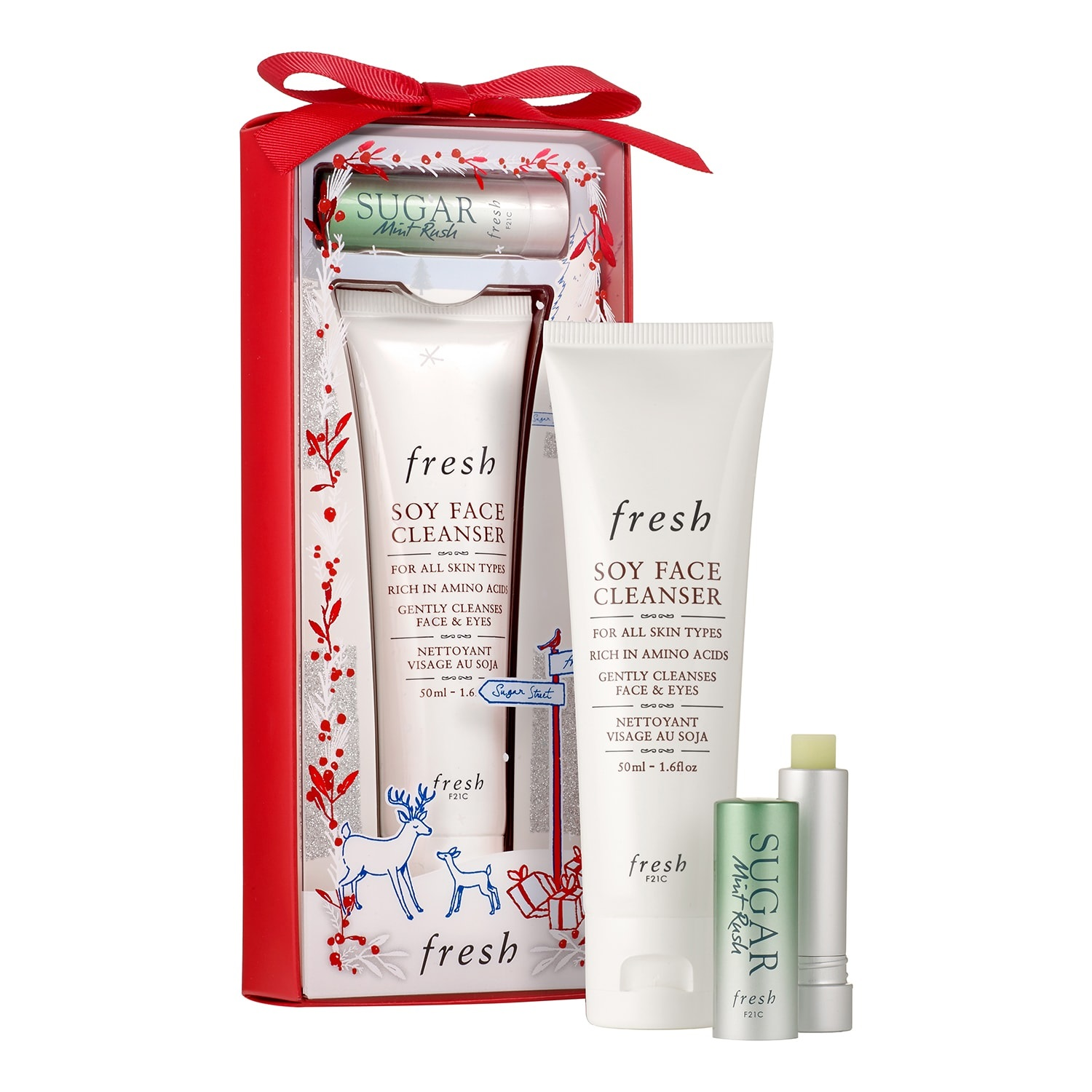 Kit de cuidado facial de Fresh Cosmetics