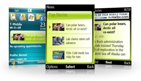 MSN Direct para Windows Mobile