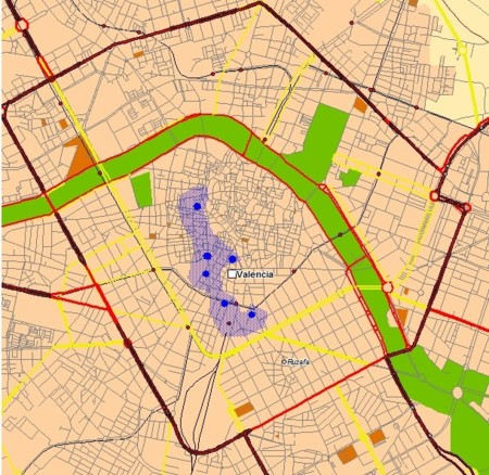 Próxima cobertura LTE-A de Orange en Valencia
