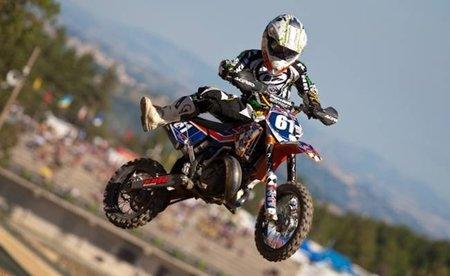 Jorge Prado, Campeón de Europa de Motocross de 65cc