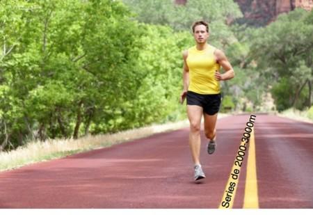 Series de 2000 y 3000 metros: duras pero efectivas para la competición