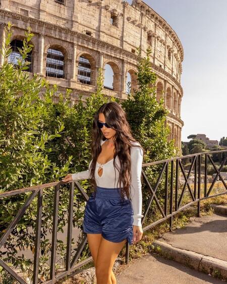 Las vacaciones en Roma de Kim Kardashian nos deja con looks icónicos que podrían inspirarnos este verano