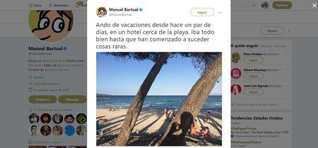 Las vacaciones de Manuel Bartual están siendo la novela de misterio veraniega que necesitabas