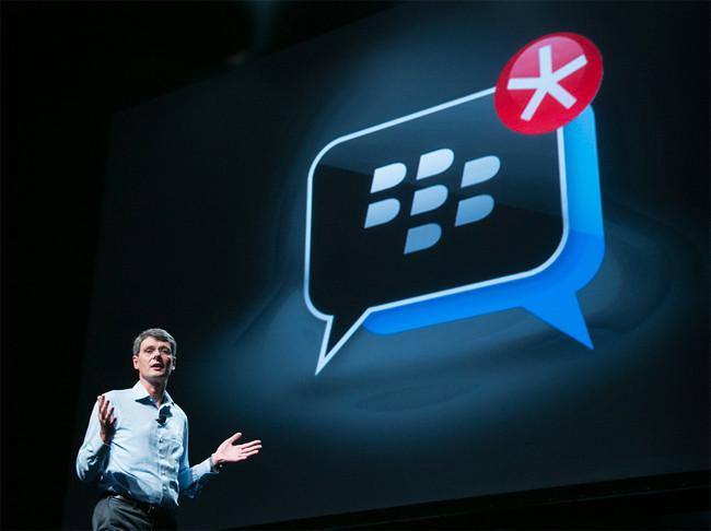BlackBerry Messenger en iPhone y Android: seguridad y confirmación de lectura del mensaje son sus argumentos