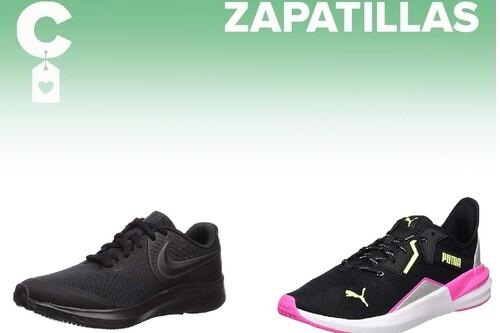 Chollos en tallas sueltas de  zapatillas Nike, Puma o Adidas por menos de 35 euros en Amazon