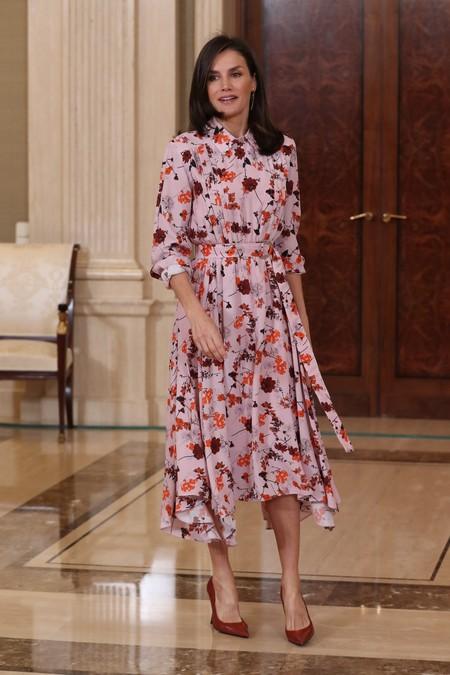Reina Letizia Vestido Flores 4