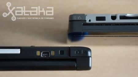 Nintendo 3DS XL comparativa controles L y R
