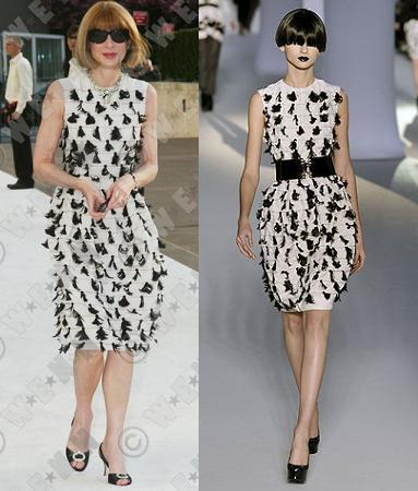 Anna Wintour de Yves Saint Laurent